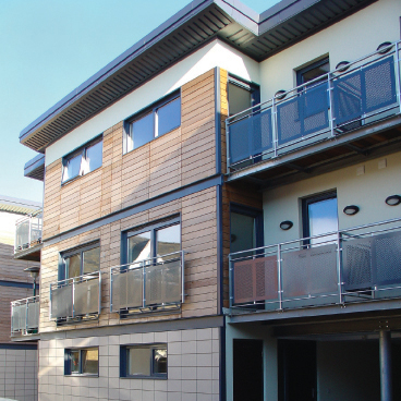 Ralway Street Development, Hertford, by Kirby Cove Architects